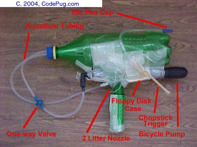 DIY Homemade Water Gun | CodePug.com